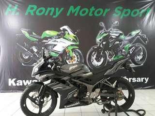 Kawasaki ninja rr th 2015 cash/kredit sejabodetabek,cikarang & serang dp 5.5jt