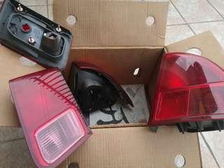 Honda civic es 1.7 lampu belakang