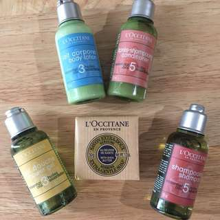 Travel Bath and Body Set