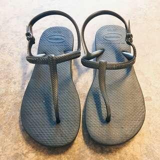HAVAIANAS t-strap sandals 涼鞋 bra35/36 us6