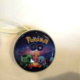 Pokemon GO earpiece/coin pouch