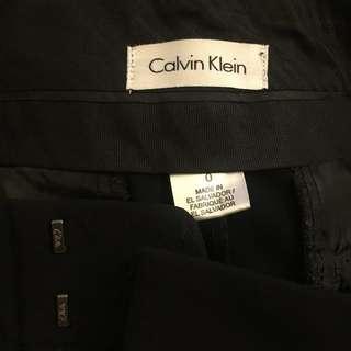 CK Calvin Klein Black Long Pant 0號 加細碼 黑色長褲