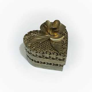Heart Shaped Candle/ Jewelleries Holder