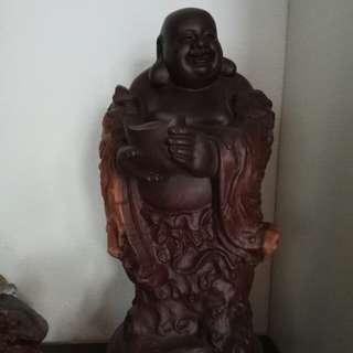 黑唐木 laughing Buddha