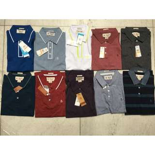 Original Penguin Polos (size - small heritage slim fit)