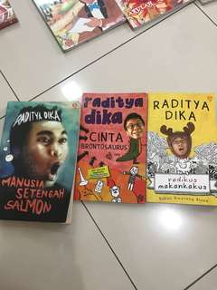 raditya dika novel TAKE ALL