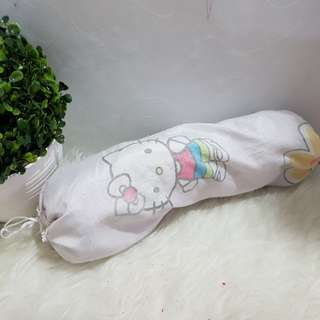 GRATIS guling bayi hello kitty ungu newborn
