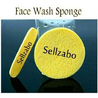 🆕Face Scrub Washing Spongy Sellzabo Sponge Facial Cleansing Wash