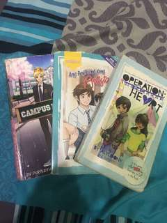 Pop fiction books 3 for 100