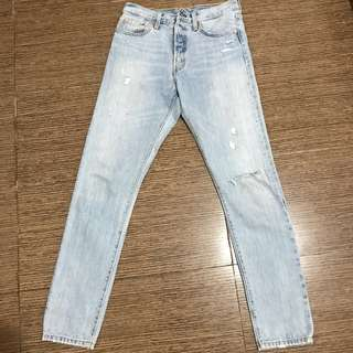 Ripped jeans levi's