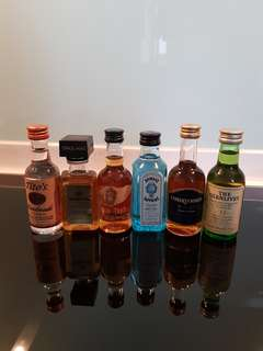 Alcohol Minis - Collectibles
