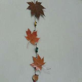 Wind Chime - Maple Leaf