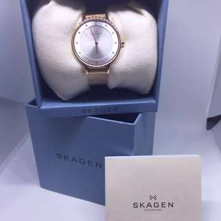 Skagen Rose Gold bracelet watch