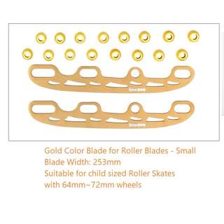 Ice skating blade for Inline roller blades for child size