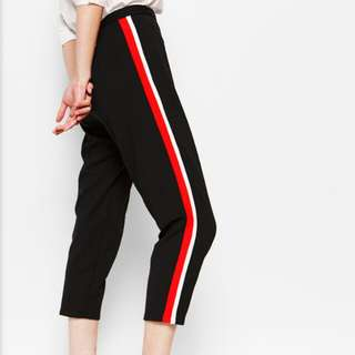 Foxtrot Side Stripe Pants-Cotton Ink