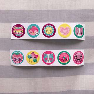 Cute Scented Stickers (10pc Set)