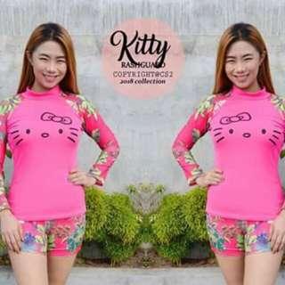 Hello Kitty Rash Guard