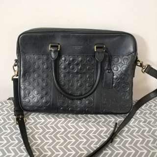 Preloved Authentic Coach Messenger Bag