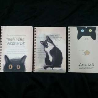 For Cat Lovers-Cat Note Books