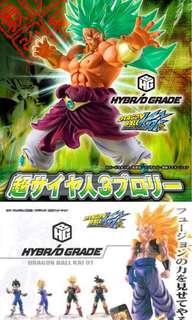 龍珠 Dragon Ball Hybrid Grade Broly 扭蛋 超3布洛尼 格比達
