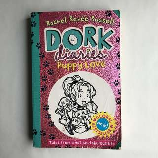 Dork diaries Puppy love book