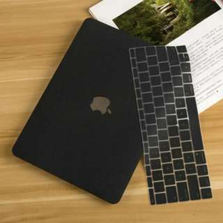 Black Apple Macbook Pro Air Retina Laptop Hard Case Cover Protector