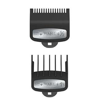 """Wahl Professional Premium Cutting Guide with Metal Clip 1/2"""" &1 1/2"""" Combo Set"""