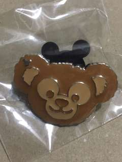 香港 迪士尼 徽章 Disney Game Pin 麵包系列 Duffy