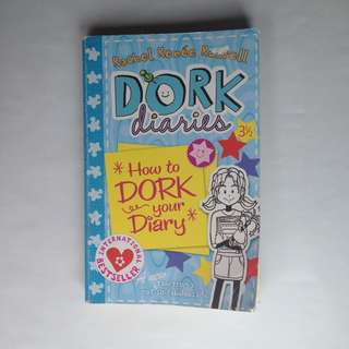 Dork diaries How to Dork your Diary book