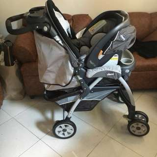 Chicco cortina stroller and carseat 20000 negotiable