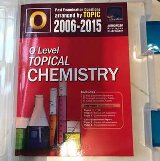 O'level Topical Chemistry 2006-2015