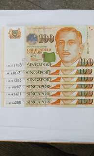 $100 1AA