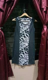 Black Sheep Black and White Dress