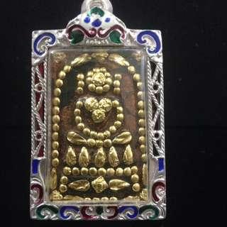 Thai Amulet ( Jade Stone & Gold)