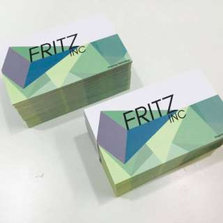 AFFORDABLE AND QUALITY NAME CARD PRINTING SINGAPORE CHEAP GOOD