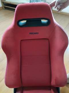 Recaro SR3 Red