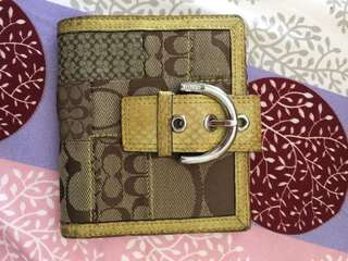 Coach wallet 100% real
