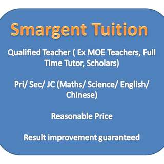 Math and Sciences tuition - primary, O Level and A Level
