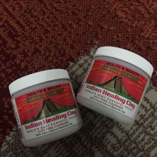 RESTOCKED!! AZTEC INDIAN HEALING CLAY MASK