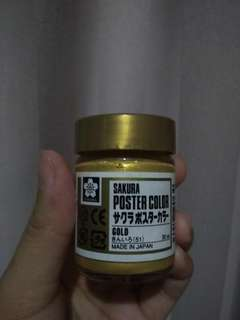Sakura poster color gold 30ml