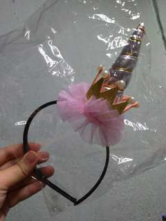 Pink Crown Unicorn Headband