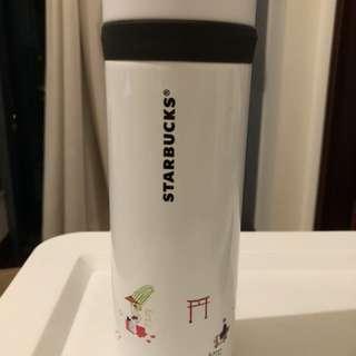 Starbucks 日本京都紀念版保暖杯