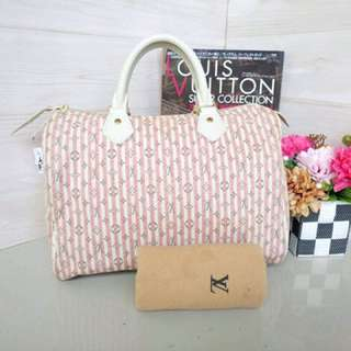 Authentic Louis Vuitton Mono MiniLin Speedy 30