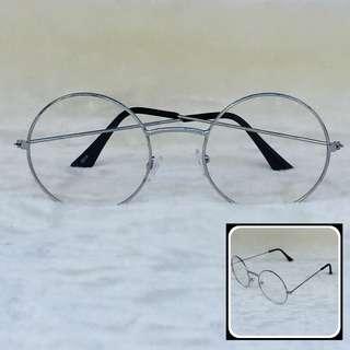 Harry Potter Style Eyeglasses (Silver)