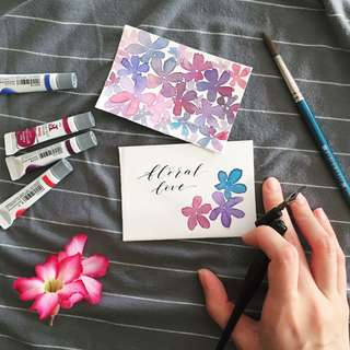 Handmade invitation cards | Calligraphy