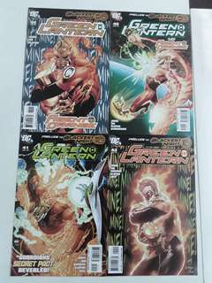 Green Lantern Agent Orange (2009 DC) Comics Set