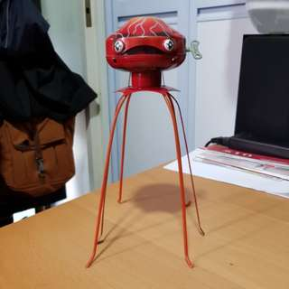 Schylling Tin Wind-Up Martian Invader Toy