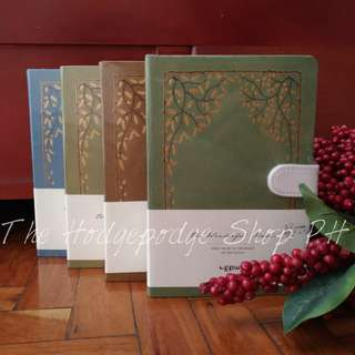 Hardbound Notebook with Gold Foil Design (The Wonderful Music)