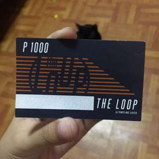 PhP 2000 worth of GC - The Loop by POWER MAC CENTER