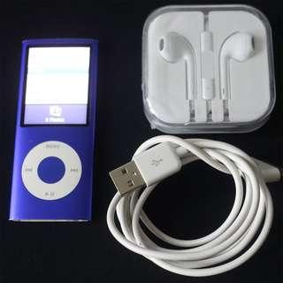 (Sale) Apple iPod Nano (4th Gen, 8GB, Blue)